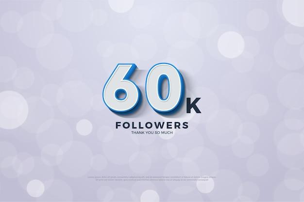 60 mil seguidores.