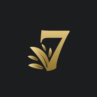 7 dias restantes sinal de contagem regressiva para venda ou promoção.