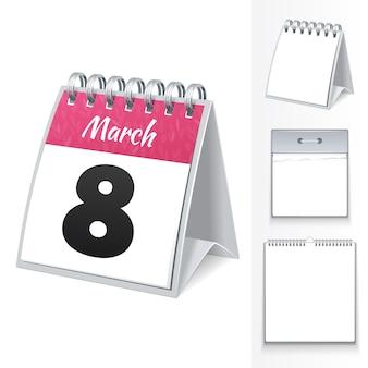 8 de março calendário