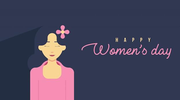8 de março cartão do dia da mulher