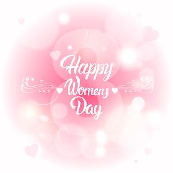 8 de março cartão internacional do dia das mulheres