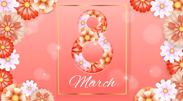 8 de março. dia da mulher