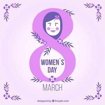 8 de março, dia das mulheres felizes