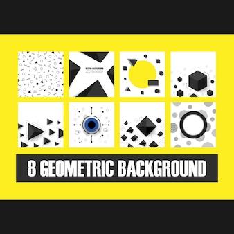 8 fundo geométrico