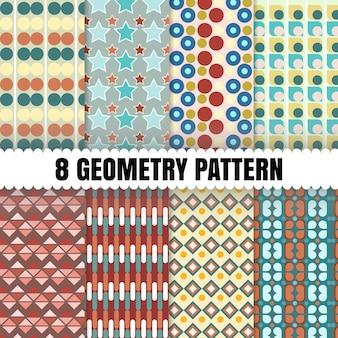 8 geometria de fundo