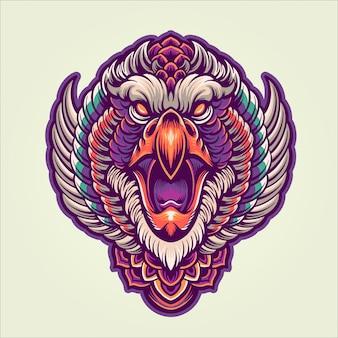 A águia mítica