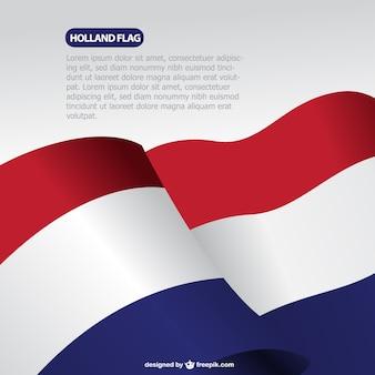 A bandeira holandesa vector