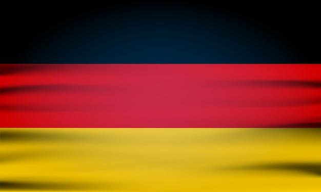 A bandeira nacional da alemanha