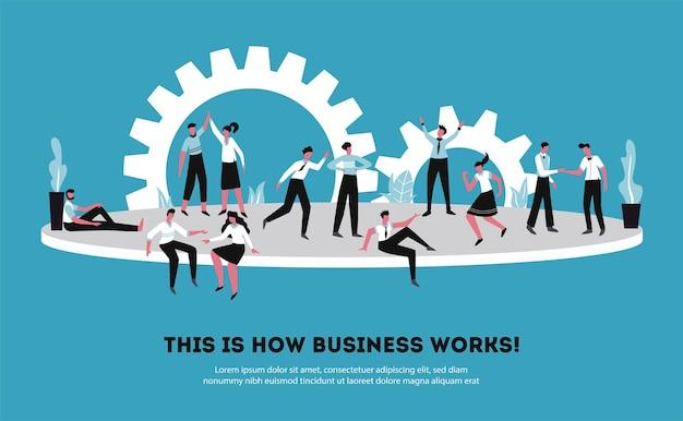 A colaboração da parceria de negócios suporta o compartilhamento de fundos, responsabilidades, tomada de decisões