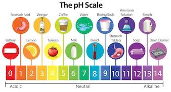 A escala de pH da ciência