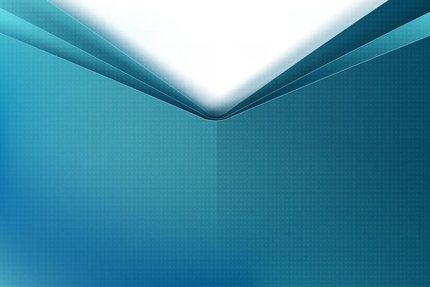 A geometria básica do fundo abstrato se sobrepõe às sombras