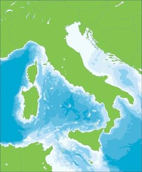 A itália é uma república parlamentar unitária na europa.