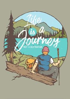 A jornada no lago