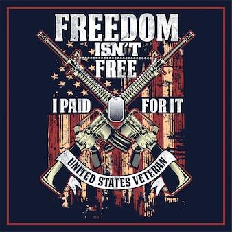A liberdade não está livre eu pago por isso