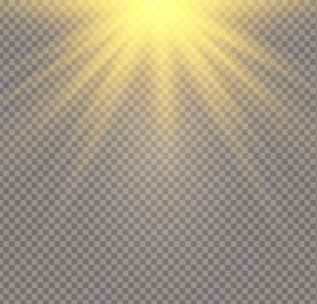 A luz solar um translúcido especial do efeito de luz. fundo transparente da luz solar. borrar à luz do brilho.