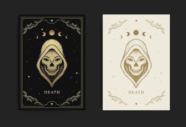 A morte, carta de tarô dos arcanos maiores