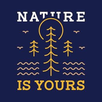 A natureza é sua 1