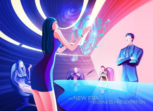 A nova era da apresentação comercial