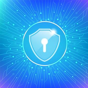 A segurança cibernética protege