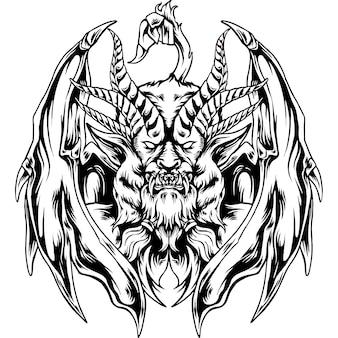 A silhueta da mitologia quimera