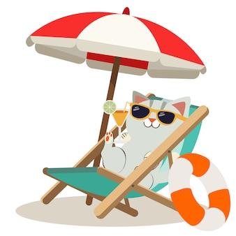 A tela do cartaz de verão em branco
