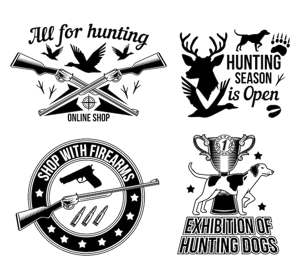 A temporada de caça está aberta