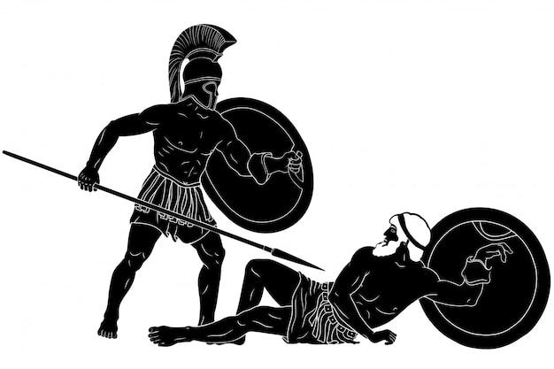 A trama mitológica de homero.