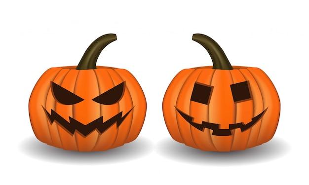 Abóbora 3d para o halloween