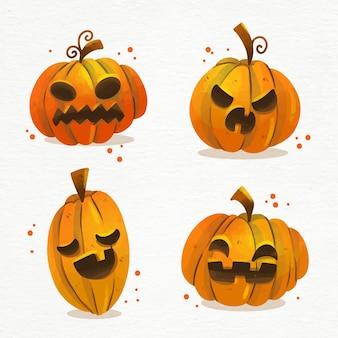 Abóboras do festival de halloween