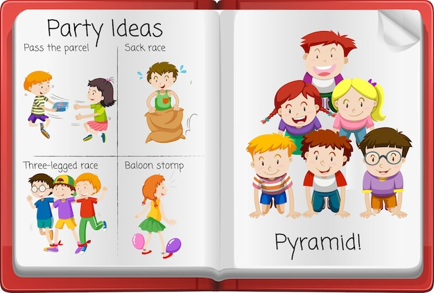 Abra a página do diário de atividades