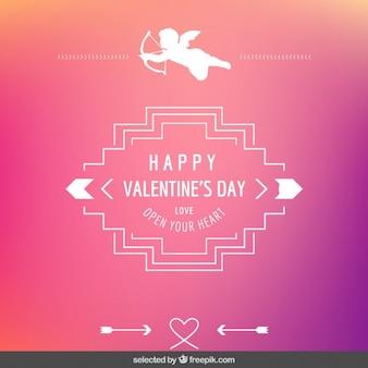 Abra o seu coração cartão