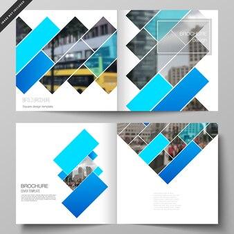 Abrange modelos para brochura quadrada