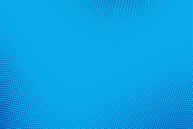 Abstack background estilo cartoon gradiente de meio-tom azul