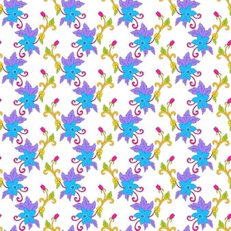 Abstarct color seamless pattern design
