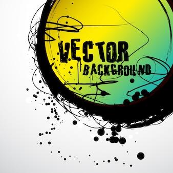 Abstarct grunge style vector art