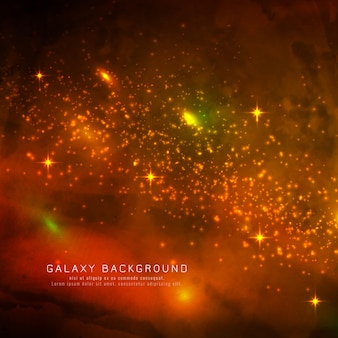 Abstarct magical galaxy background