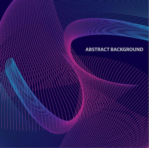 Abstrack blend line background