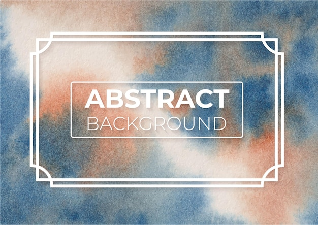 Abstract burnt sienna e prussian blue color design moderno e elegante fundo