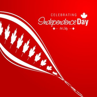 Abstract canadá dia independência