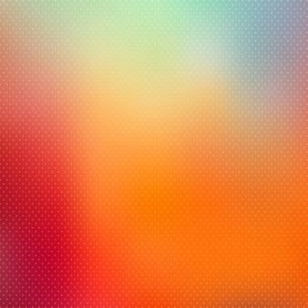 Abstract polka dot fundo do borrão