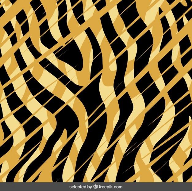Abstract tigre impressão de fundo
