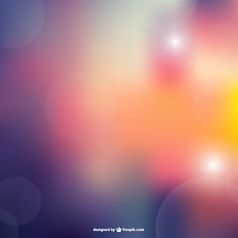 Abstract vector bokeh