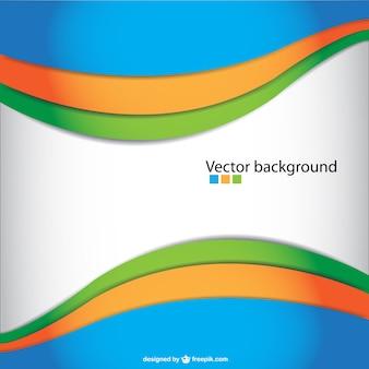 Abstract vector ondulado