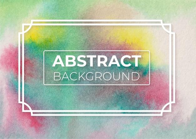 Abstract viridian hue gamboge hue e vermilion hue color fundo de design moderno e elegante