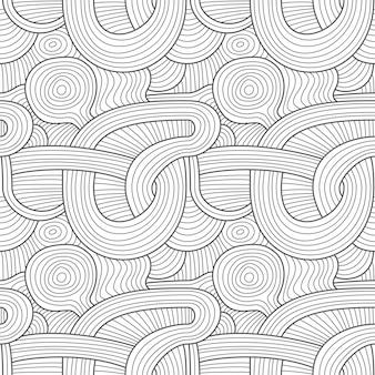 Abstrata sem costura padrão moderno