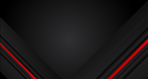 Abstrata seta vermelha no círculo cinza escuro malha design moderno fundo futurista
