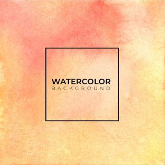 Abstrata vermelha laranja textura aquarela sobre fundo branco. a cor espirrando no papel.