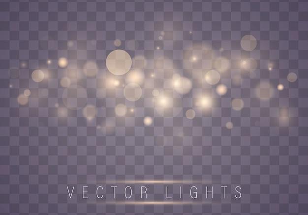 Abstratas luzes brilhantes luzes de bokeh. conceito de natal