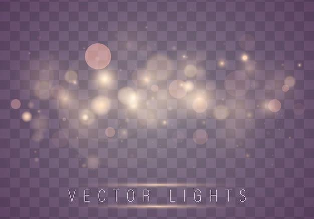 Abstratas luzes brilhantes luzes de bokeh. natal.