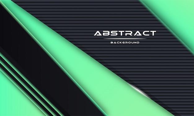 Abstrato 3d com camadas de papel preto